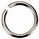 wholesale Accessories & Spare Parts: 50 binding rings, 925 silver, 0.7x5.0mm