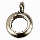 25 pierścionków z wisiorkiem, srebrny