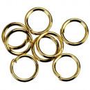 1 Kg binding rings, 6x0,9mm, KC gold