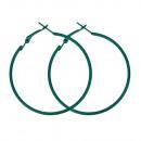 ingrosso Gioielli & Orologi:Hoops, 50mm, verde