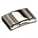 Magnetic clasp, for 16x3mm, silver