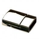 grossiste Accessoires & Pièce détachée: Fermoir magnétique, pour 14x5mm, argent
