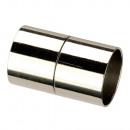 grossiste Accessoires & Pièce détachée: Fermoir magnétique, pour 8mm, argent