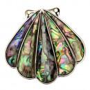 Hanger / brochel schaal, abalone