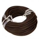 wholesale Accessories & Spare Parts: 5m leather strap, 3mm, light brown