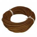 wholesale Jewelry & Watches: 5m leather strap, 3mm, light brown