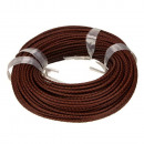wholesale Jewelry & Watches: 5m leather strap, 3mm, red