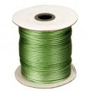 Taśma woskowa, rolka 80m, 3mm, zielona