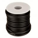 Rubberen band, 9 m rol, 5 mm, zwart