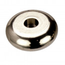 Tussenzetsel 50 Button roestvrij staal, 7,9x2,8mm