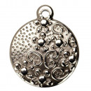 wholesale Beads & Charms: 10 pendants / charms stainless steel, 16mm
