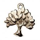 ingrosso Beads & Charms: 10 ciondoli / charms tree, acciaio inossidabile
