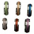 hurtownia Bizuteria & zegarki: Kolor pierścienia ze stali nierdzewnej, komplet