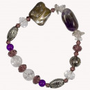 Bracelet Crystal / Amethyst