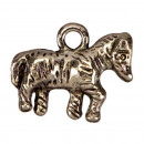 100 Hanger / Charms paard, 13x16mm