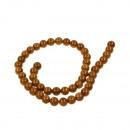 ingrosso Accessori e ricambi: Strand oro perle  d'acqua dolce, 8mm