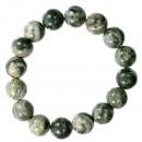 grossiste Bijoux & Montres: Bracelet de perles de jade naturel, 12mm