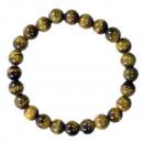 Natural tiger eye beads bracelet, 8mm