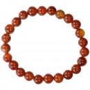 ingrosso Gioielli & Orologi: Agata rossa naturale braccialetto di ...