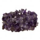 grossiste Bijoux & Montres: Bracelet Améthyste, multi-brin