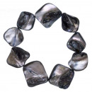 groothandel Sieraden & horloges: Armband parelmoer, grijs-blauw