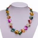 grossiste Chaines: mère Collier de perles, de couleur
