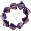 Mother of Pearl Bracelet, Purple