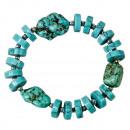 wholesale Bracelets: Natural Stone Bracelet Turquoise
