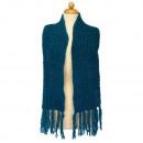 Classic  Women's Scarf, 150x14cm, Blue