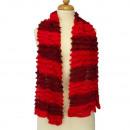 Lichte dames sjaal, 160x13cmm, Rood