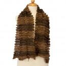Lichte dames sjaal, 160x13cmm, Brown