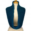 Loop scarf, 52x20mm, Blue