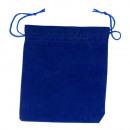 wholesale Jewelry & Watches: Schmuckbeutel velvet, blue
