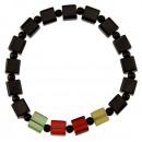wholesale Drinking Glasses: Bracelet Glass, Cube, Multicolor