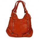 Large handbag Anja, Orange