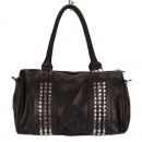 Fashionable handbag Lisa3, Black