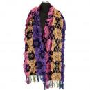 wholesale Scarves & Shawls: Stylish ladies  scarf, 180x40cm, non-ferrous