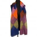 Sjaal, Kleurrijk, 180x100cm