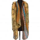mayorista Ropa / Zapatos y Accesorios: Pañuelo de cuello, de color marrón-azul-rosa, ...
