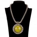 Großhandel Anhänger: Halskette mit Anhänger, Grün