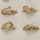 wholesale Jewelry & Watches: Range fashion  rings with stones, Rose Gold