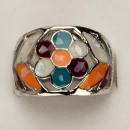 wholesale Rings:Pearl ring, stained