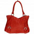 Großhandel Handtaschen: Modische Handtasche Betty, Rot