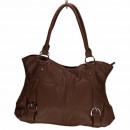 Großhandel Handtaschen: Modische Handtasche Betty, Braun