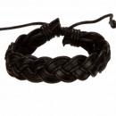 groothandel Sieraden & horloges:Lederen band, Black