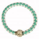 grossiste Bijoux & Montres: Bracelet avec  fermoir  magnétique, Green ...