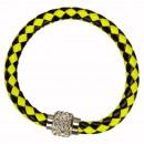 Großhandel Schmuck & Uhren: Armband mit Magnetverschluss, Gelb-Schwarz