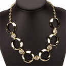 Fashionable Necklace, Gold
