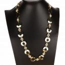 wholesale Belts: Long Fashion Necklace / Belt, Gold