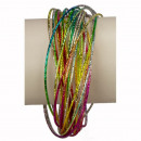 30teiliger armbanden, gekleurde